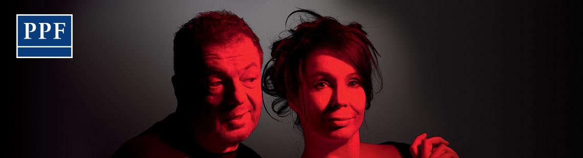 Milan Šteindler a Nela Boudová - Večer tříkrálový aneb Cokoli chcete 2016, zdroj: © AGENTURA SCHOK, foto: Pavel Mára